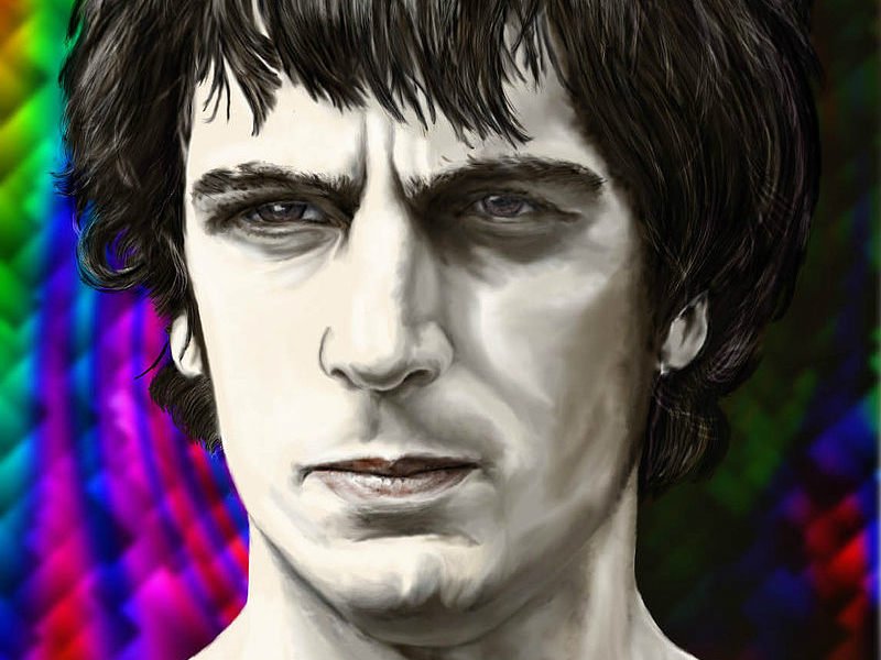 Syd Barrett. Illustration: Bojars, Wikimedia