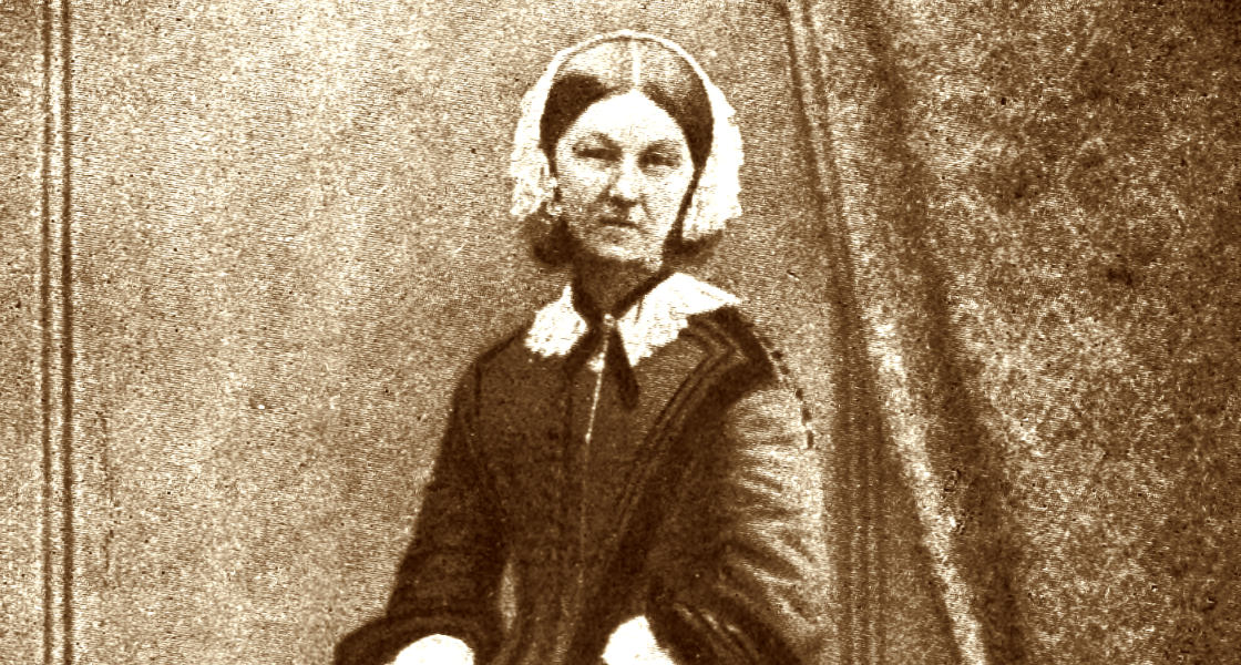 Florence Nightingale (beskuren). Foto: Goodwin