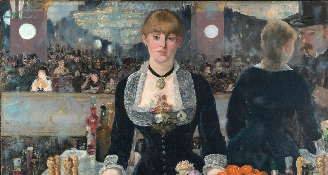 Edouard Manet - A Bar at the Folies-Bergère 1882