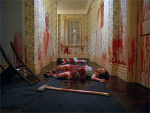 "Splatterscen ur Stanley Kubricks ""The Shining"" (1980)"