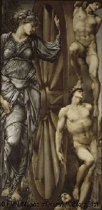 Edward Burne-Jones, The Wheel of Fortune. Courtesy Musée d'Orsay