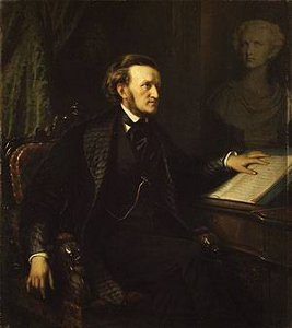 Richard Wagner av August Friedrich Pecht