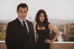 Rufus Sewell and Caterina Murino
