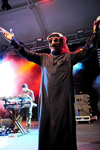 Omar Souleyman Foto Becks Music Box