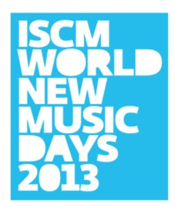 World New Music Days logo