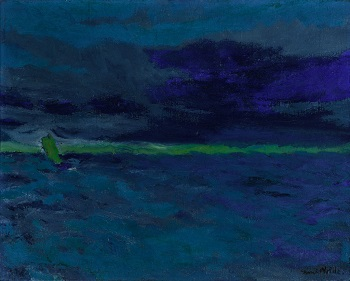 Emil Nolde. Blue Sea