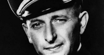 Adolf Eichmann 1942. Public Domain Wikipedia