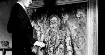 Stilbild ur The PIcture of Dorian Gray (1945