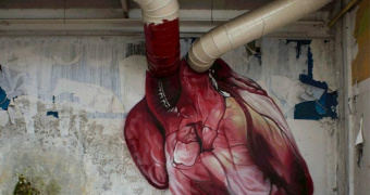 heArtbeats: Lonac's Street Art Gif(t) to His Fans for Valentine's Day