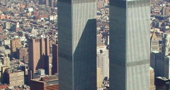 World Trade Center 12 april  2001. Foto: Ubcule/Wikipedia