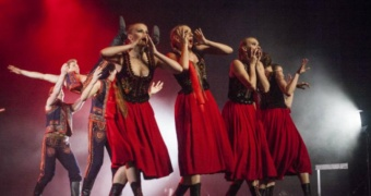 Slask, Polens nationella folklore-ensemble, foto Anna Spysz