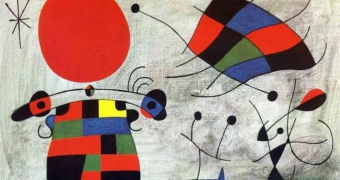 Miró: The Smile of the Flamboyant Wing
