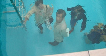 "Leandro Erlich""Swimming Pool""  The 21 st. Century Museum of Art of Kanazawa, Courtesy the Artist"